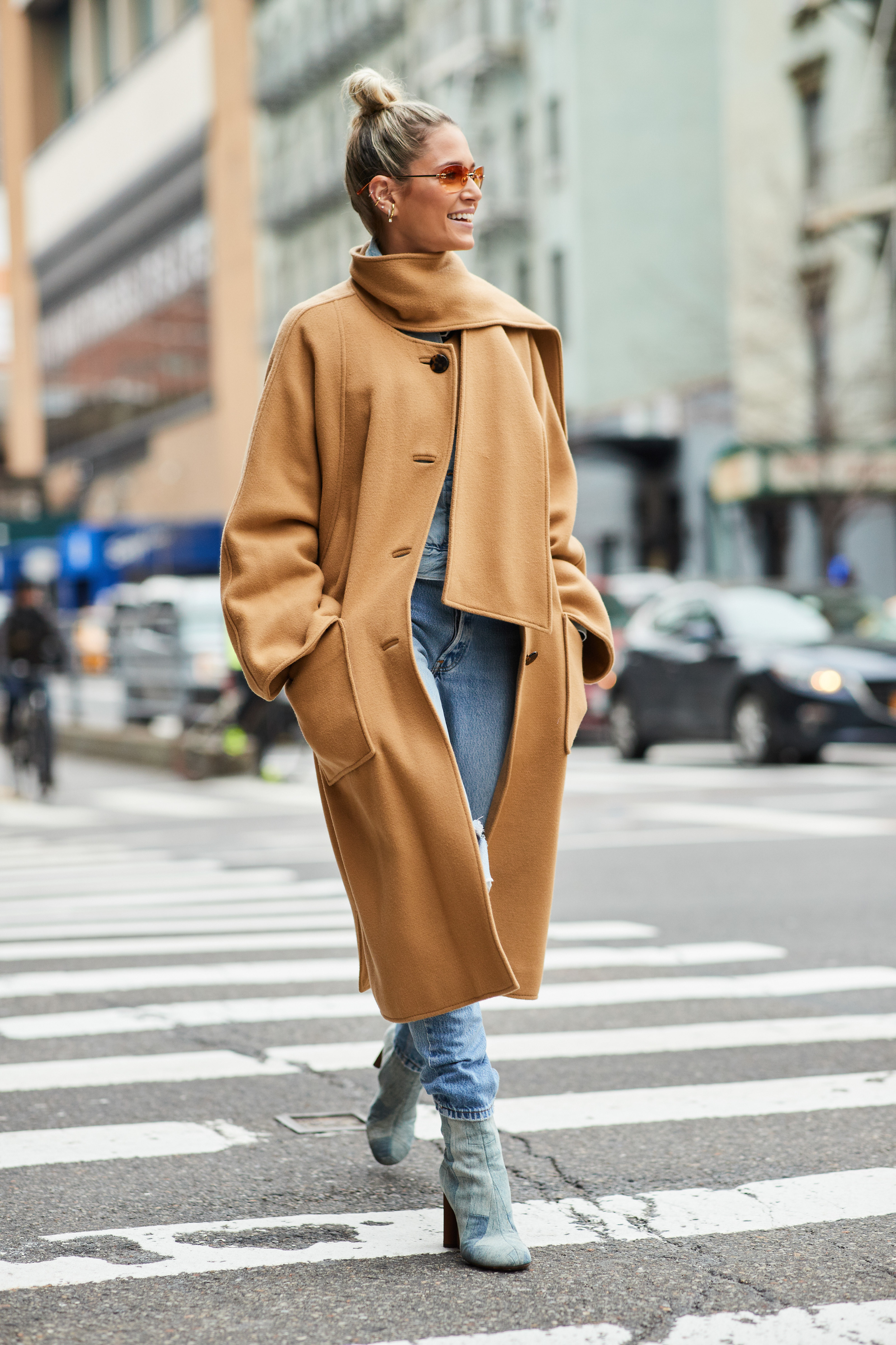 0392b4b6d6 Autumn Winter 2018 2019 part 1 - The Style Stalker - Street Style by ...